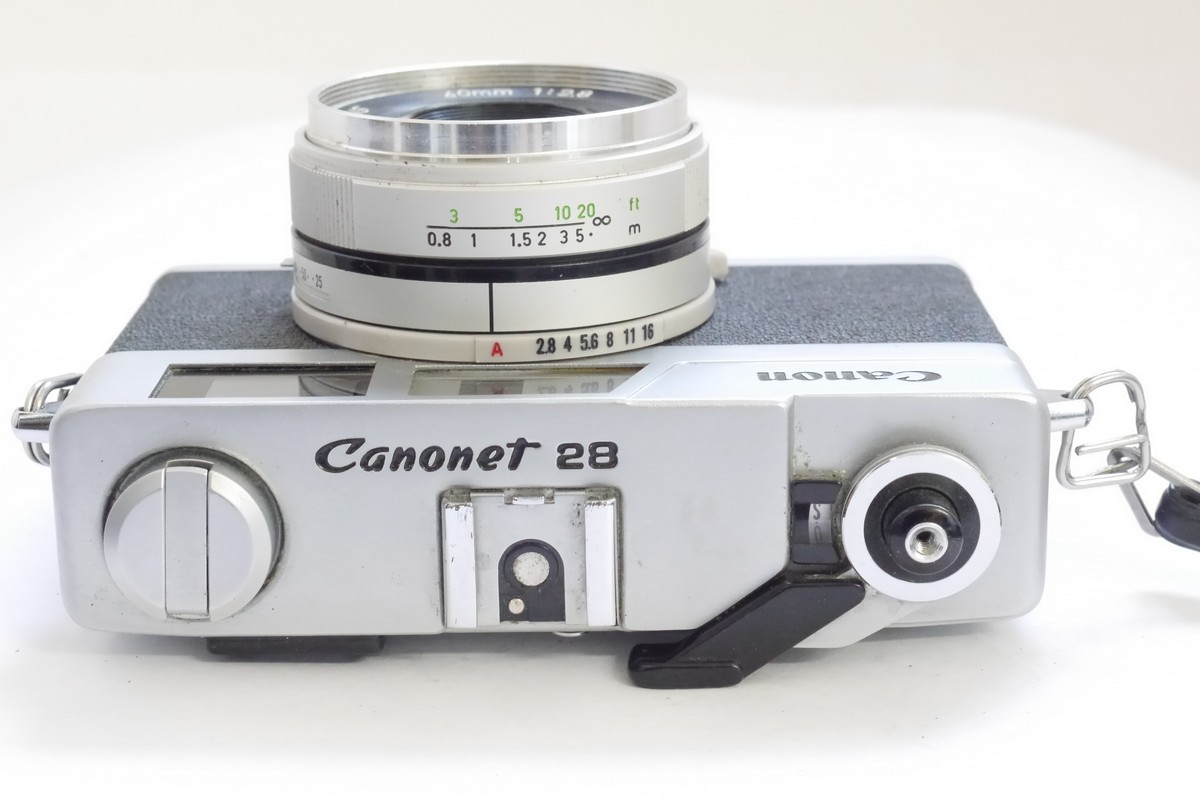 Canon Canonet 28, 35mm Coupled Rangefinder camera with ...