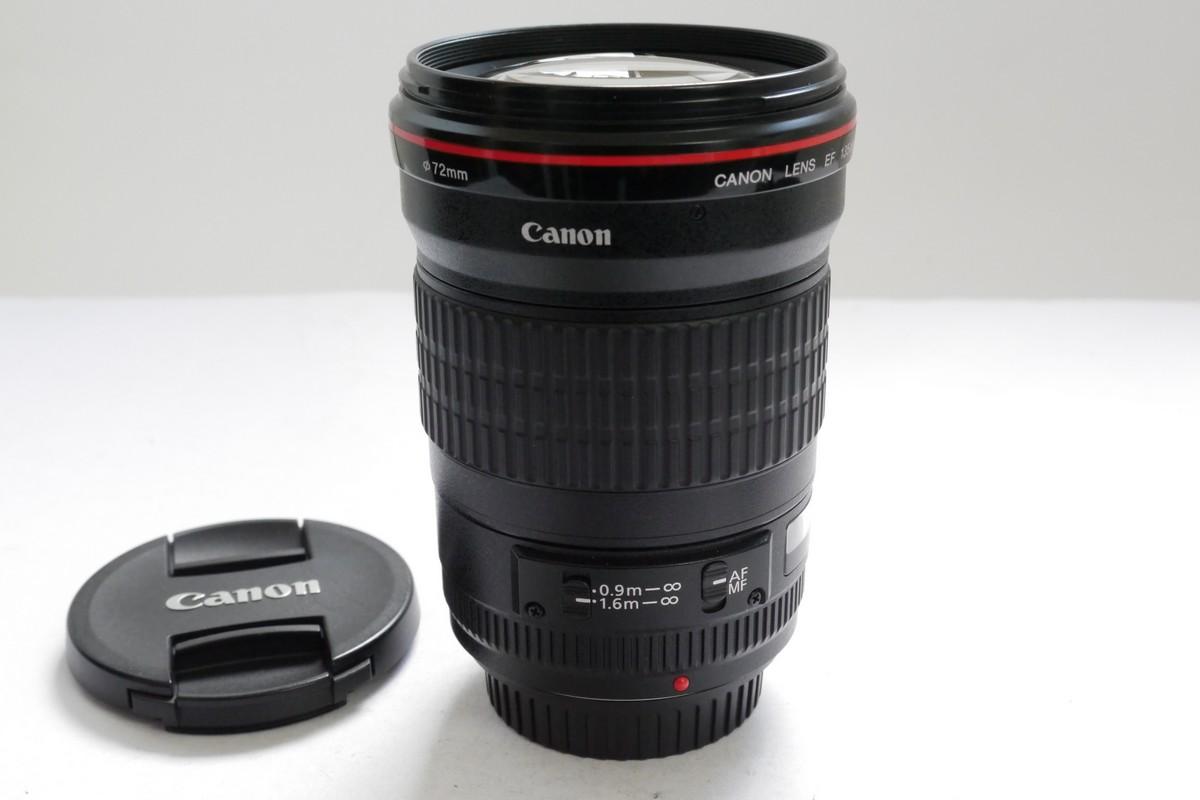 Canon EF 135mm f2 L USM lens + makers caps - MW Classic Cameras