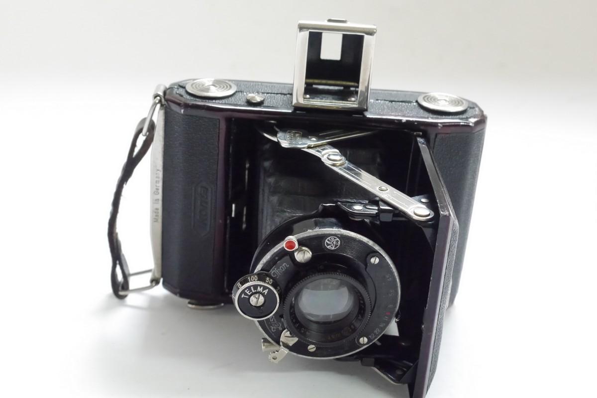 Zeiss Ikon Ikonta 520 6×4 5 folding camera with 7 5cm f4 5 Novar-anastigmat  uncpated lens in Telma shutter - MW Classic Cameras