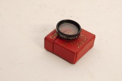 Leica LEITZ Series 5.5 RED Green Set of 3 Orange with Cases